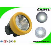 0.74W 5000lux Strong Brightness LED Mining Light IP68 Waterproof 1000 Battery Cycles