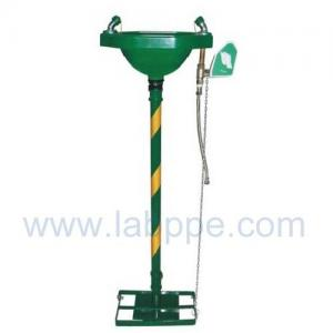 Quality SHE150-Stand emergency eyewash station,G.I.Color:Yellow,red,green for sale