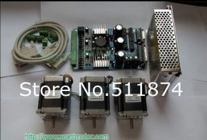 Quality Motor de pasos del equipo Nema23 del router del CNC 270oz-en, envío gratis del tablero de conductor de 1.0A +3 AXIS TB6560 for sale