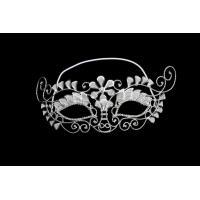 China Party Jewelry Rhinestone Mask Wholesale Rhinestone Half Face Fashion Mask Crystal Bridal Jewelry MK002-001 on sale