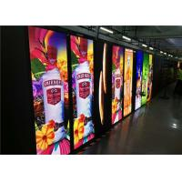 China P2.5 Front Maintenance Portable Poster Display Totem With Video , Graphics , Animation on sale