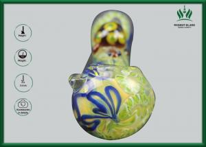 China Hand Bowl Small Size Glass Smoking Pipes Customized Shape 0.5cm Glass Thickness on sale