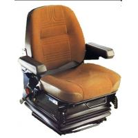 Black And Red Truck Shock Absorbing Car Seat With Granular Silica Gel Base