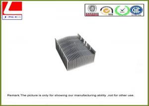 China Radiateur en aluminium de usinage de profil de pièces en métal professionnel de haute précision on sale