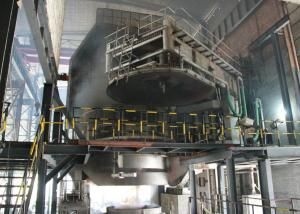 China 80t  stainless steel alloy steel smelting steel-making electric arc furnace EAF supplier