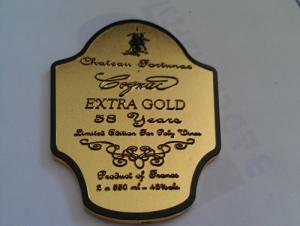China zinc alloy wine label,custom wine label,metal wine label,personalized wine packaging label on sale
