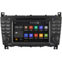 Quad Core Mercedes Benz Radio GPS W203 DVD Player , Mercedes C Class Navigation System