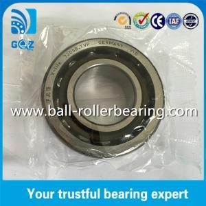 China Nylon Cage OD 52mm Angular Contact Ball Bearing 40 Degree Contact Angle on sale
