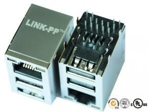 China LAN-Transformador WE-RJ45LAN USB 3,0 de la placa madre 7497110616 on sale