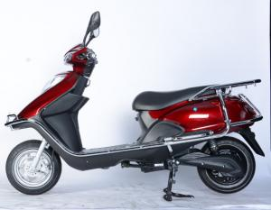 China Steel Frame Battery Operated Motor Scooter 800W 60V Hydraulic Shock Absorber on sale