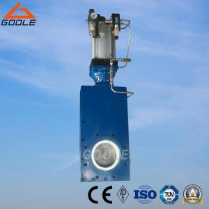 China Pneumatic Ceramic Single Disc Gate Valve (GZ643TC) on sale