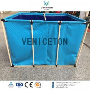 China Hot sale flexible  fish pond foldable aquaculture fish farming tank on sale