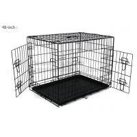 China Wholesale Heavy Duty Custom Made Large Animal Pet Dog Cage ( stainless steel, metal, aluminum, iron,galvanized steel ) on sale
