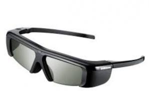 China Foldaway ABS PC infrared Active Shutter 3D TV Glasses For Panasonic GH1600IR on sale