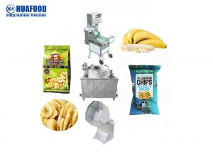China Semi Automatic Plant 30kg 50kg 80kg 100kg Small Scale Plantain Chips Production Machine on sale