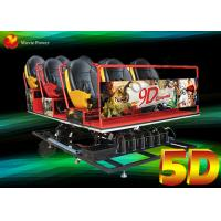 Dubai Electric And Hydraulic Motion 5d Home Theater With 6/8/9/12 Seater