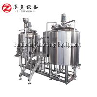 China 380V 500L Electric Small Scale Brewing Equipment Stainless Steel Material on sale