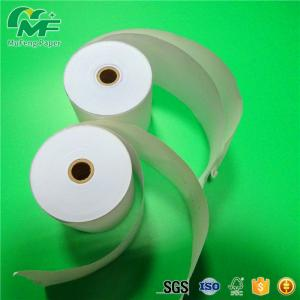 China High Tensile Strength NCR Carbonless Paper 100% Wood Pulp Form Roll / Ream on sale