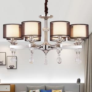 China Contemporary style chandelier with Lamshade for indoor home lighting (WH-MI-39) on sale