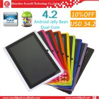 7inch Dual Core Andriod 4.2 Tablet pc Wifi Dual Camera Q88