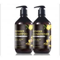 China Danddruff  Sulfate Free Ginger Hair Shampoo , Natural Vegan Hair Shampoo Argan Oil on sale