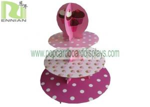 China Cupcake Cardboard Counter Displays Point Of Purchase Corrugated on sale