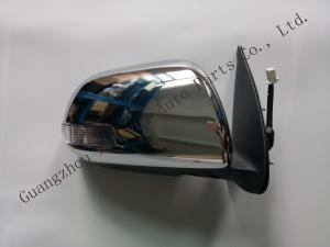 China RHD Automobile Spare Parts / Door Side Mirror Chrome Color For Hilux Vigo 2012 Model on sale