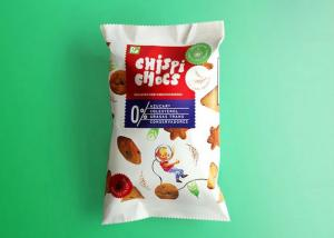 China Color Printing 3 Side Seal Pouch For Cookie , Laminated Material Back Seal bag on sale