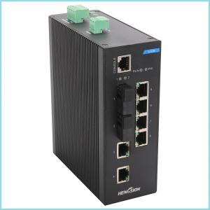 China High speed Industrial 8 port gigabit ethernet switch , fibre optic network switch for surveillance occasions on sale