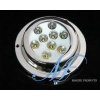 9X3W boat underwater LED light, LED yacht light, nautical LED light, LED boat kits