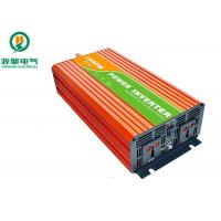 China LED Display High Frequency Pure Sine Wave Inverter , Portable Power Inverter For Car on sale