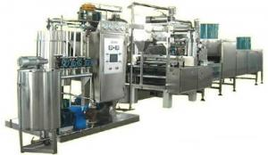 China Automatic Hard Candy Forming Machine / Jelly Bean Candy Machine on sale