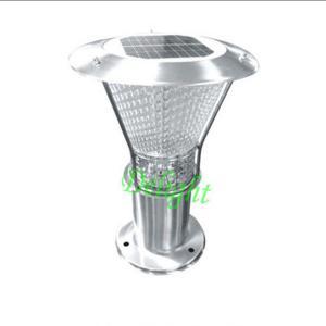 China Stainless Steel Solar Post Lighting solar lawn light solar garden light for outdoor on sale