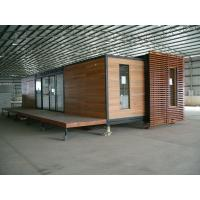 China Prefabricated Expandable Container Homes 40ft Luxury House Prices on sale