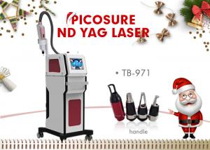 China 1320nm / 1064nm / 532nm Nd Yag Laser Tattoo Lipline Acne Removal Machine on sale