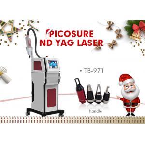 China 1320nm / 1064nm / 532nm Nd Yag Laser Tattoo Lipline Acne Removal Machine on sale