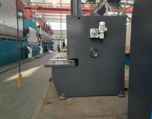 China Hydraulic Guillotine Shearing Machine Accurl , S 3200 X 100 Ton CNC Press Brake on sale