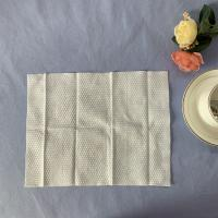 China Single Pack Single Use Embossed 100% Viscose Wet Wipes on sale