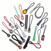 Silicone Custom Zipper Pulls, Eco-Friendly Silicone Cute Zipper Puller For Clothing
