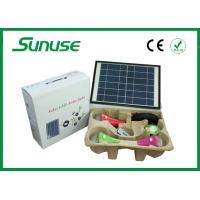 Energy saving LED Solar Home Lighting System with 3.7v 5200mah battery