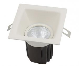 China Tilt CRI90 AC LED Ceiling Downlights 5W - 12W For Exhibition Hall / Hotel on sale
