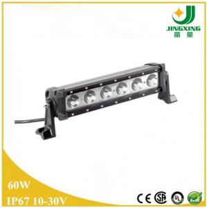 China 60W high intensity CREE led light bar, 4x4 led light bar cree JX8808-60W on sale