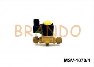 China MSV Series 1/2'' Liquid Line Solenoid Valve For Refrigeration Wine Cooler on sale