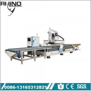 China Automatic loading and unloading ATC cnc router machine for woodworking on sale