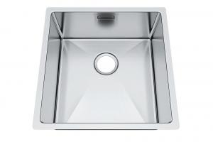 China Handmade Top Mount Stainless Steel Sink , Square Hole Commercial Sink Unit on sale
