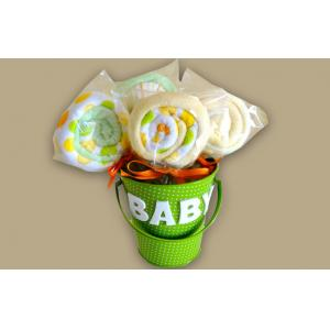 China Unique New Borns Baby Clothing Bouquet Gift , Infants baby shower bouquet on sale
