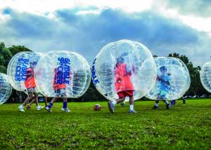 China 1.0mm 100% PVC Inflatable Bumper Ball , Soccer Bumper Ball 1.2M / 1.5M Diameter on sale