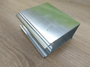 China High Hardness Powder Coated Aluminium Extrusions Wear Resistance on sale