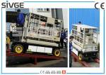 Altura automotora 10m de trabajo de la elevación hidráulica interior/al aire libre de la plataforma