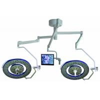 Ceiling Mounted Surgical Light With LED Bulbs , 160000 Lux Led Surgical Lamp With Camera